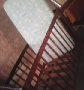 Кроватка для дачи