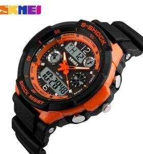 Мужские часы skmei 0931 s-shock