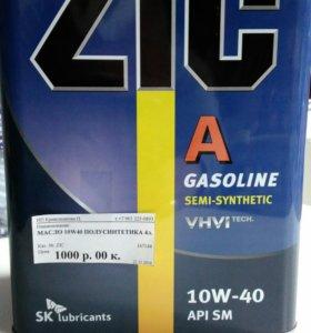 Продам масло 10w40 полусинтетическое