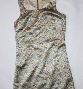 платье в белестках вечернее