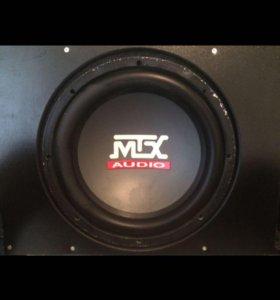 Сабвуфер mix audio и усилитель dls