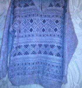 Очень теплый мужской свитер
