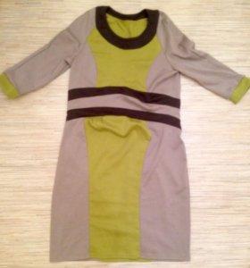 Платье для беременной трикотаж. Размер М