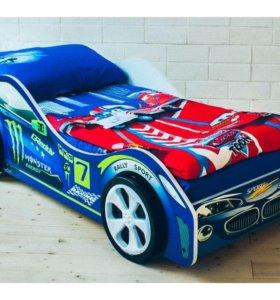 кровать машина Молния