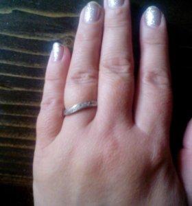 Серьги+кольцо(серебро)
