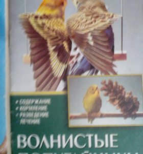 Книга о волнистых попугайчиках