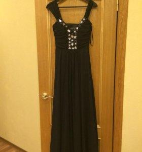 Вечерние платье в пол