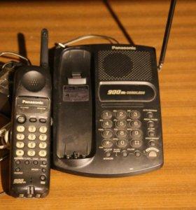 Телефон Panasonic KX-TC1451B, рабочий, б/у