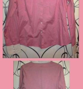 Блузы рубашки в розовых тонах
