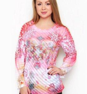 Блуза новая размер 50-52