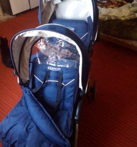 Детская коляска для двойни или детей погодок