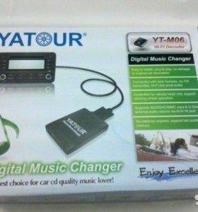 USB mp3 адаптер yatour для штатных магнитол