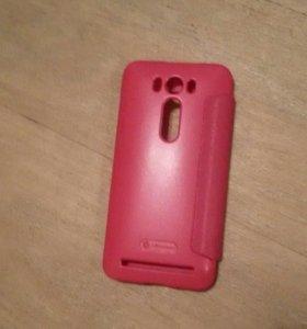 Новый розовый чехол на Asus zenfone 2 laster
