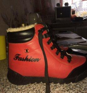 Ботинки сапоги полусапожки