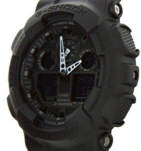Casio G-shok - черные