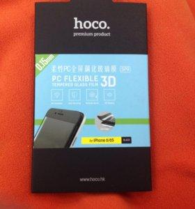HOCO защитное стекло iPhone 6 черное
