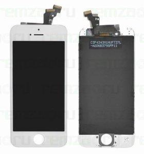 Дисплей apple iphone 6s в сборе с сенсором (белый)