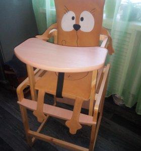 Матрасик на стульчик для кормления