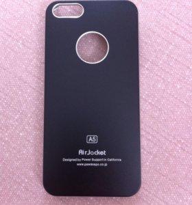 Чехол на iPhone5 (черный)