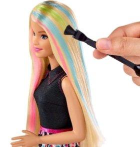 Новая! Кукла Barbie  игра с цветом