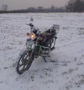 Мотоцикл ALPHA 72