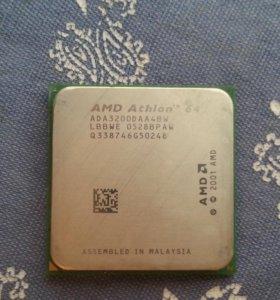 процессор+кулер AMD Athlon-64 3200+