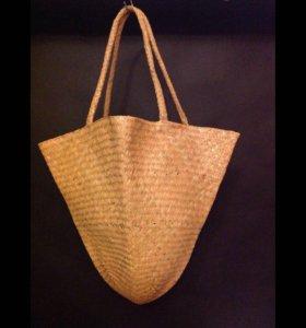 сумка соломенная