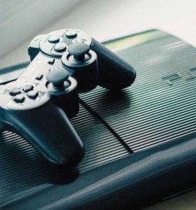 PS3 Sony Playstation 3 + GTA 5 и ещё 9 игр