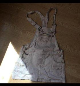 Комбинезон юбка