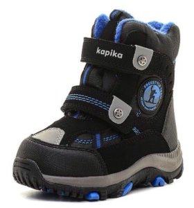 Новые зимние ботинки Kapika 23 р-р