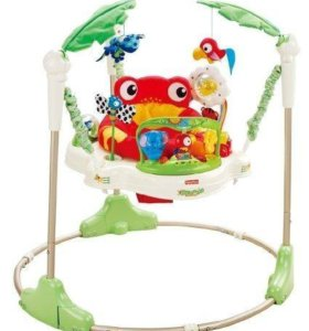 Прыгунки fisher price rainforest jumperoo