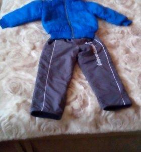 Детская куртка и штаны.
