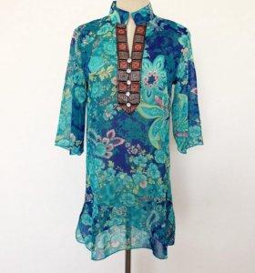 Новая блуза с рукавом
