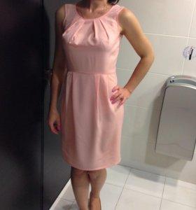 Платья розовое синее жёлтое