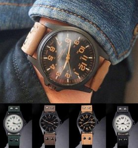 Стильные часы 4 вида