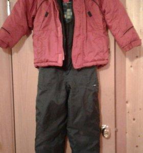 Костюм и куртка зима