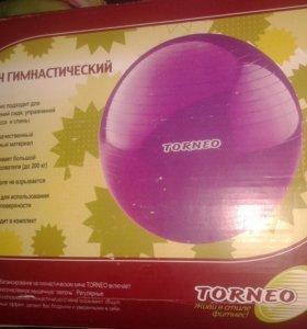Мяч гимнастический для взрослых и детей.