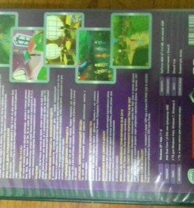 Игровой диск Winx Club +дополнительные игры