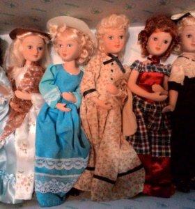 Куклы ( фарфоровые )  дамы эпохи