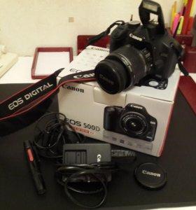 Фотоаппарат Canon 500D Kit (18-55mm)
