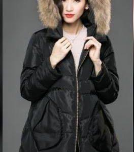 Женское  зимнее пальто,пуховик