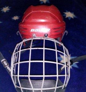 Шлем с маской BAUER HELMET COMBO,размер М