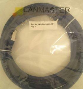 Кабель Патч-корд Lanmaster FTP LAN-PC45/S6-3.0-BL