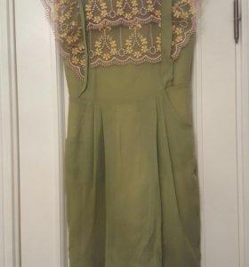 Платье шифон 40-42