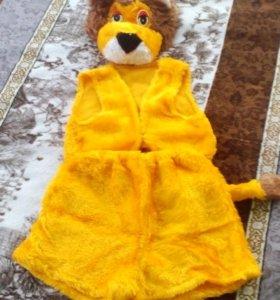 Новогодний костюм, лев.