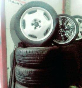 Продам мерседес шины диски  R- 18