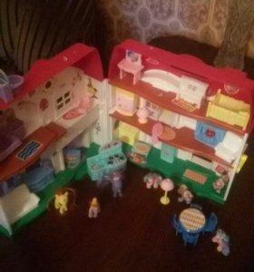 Музыкальный игрушечный домик