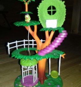 Игровой набор Домик-дерево