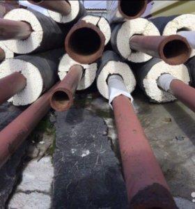 Труба стальная в изоляции (132 п.м.)