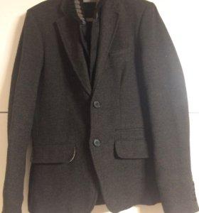 Куртка-пиджак тёплый